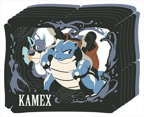 Pokemon: Paper Theater: Blastoise