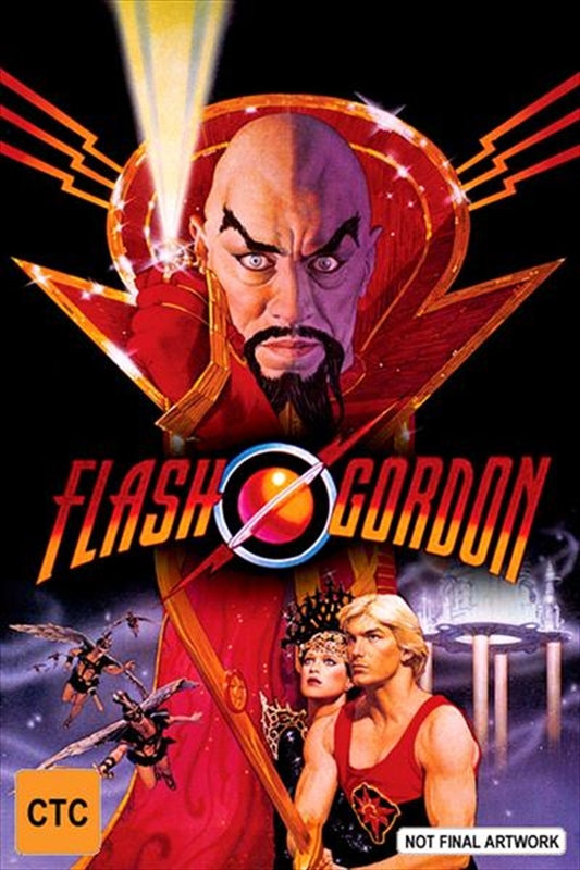 Classics Remastered: Flash Gordon (1980) on DVD