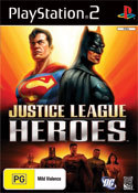 Justice League Heroes for PlayStation 2