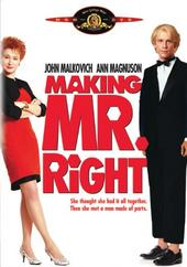 Making Mr Right on DVD