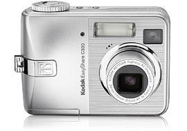 "Kodak C330 Digital Camera with Sample Inkjet 4.0MP 3X Digital Zoom Retinar Lens 1.5""Indoor/Outdoor disp 16MB internal memory SD/"