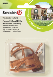 Schleich: Western Saddle + Bridle