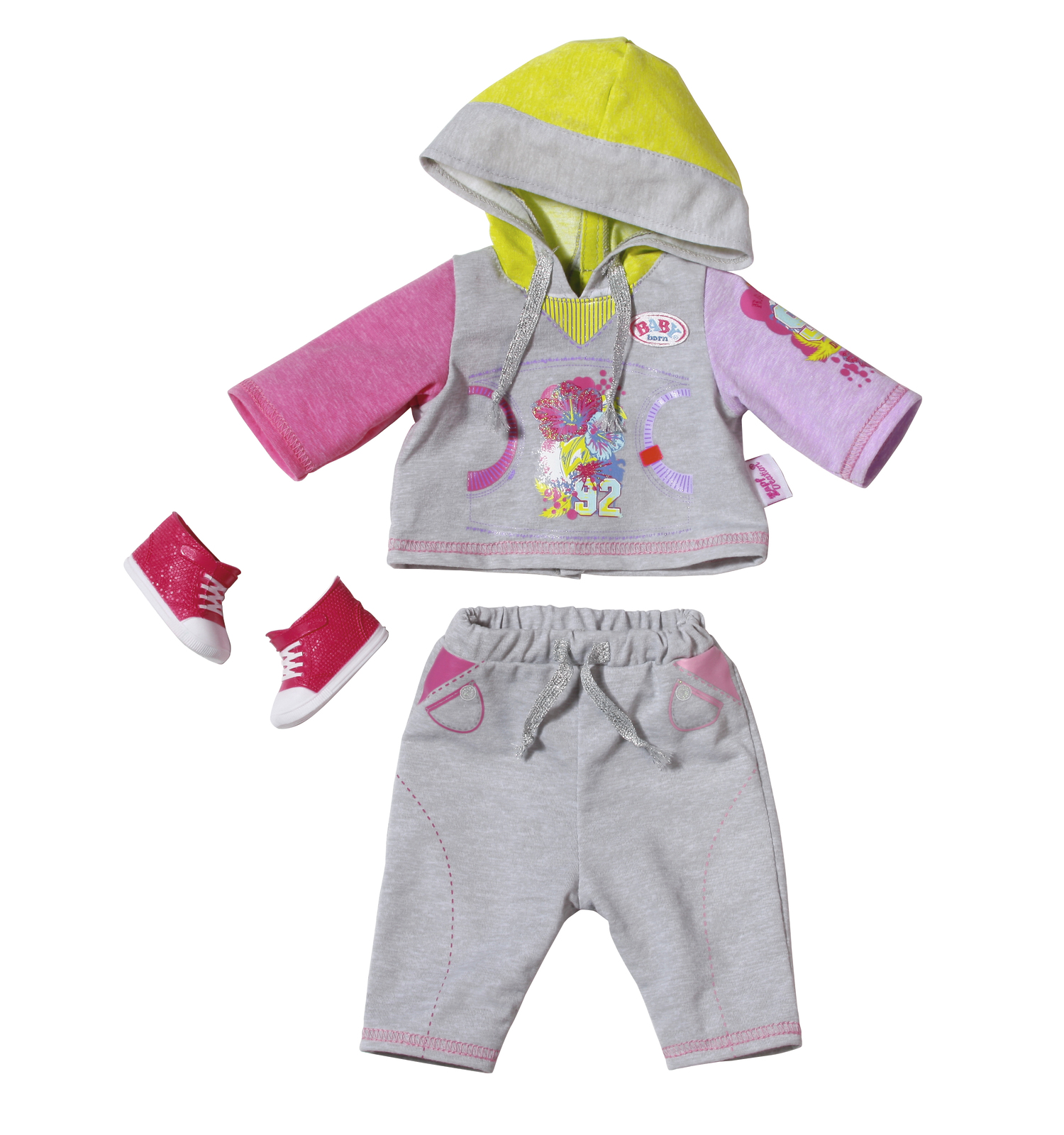 Baby Born - Deluxe Jogging Set - Grey image