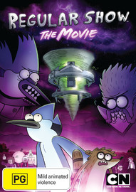 Regular Show: The Movie on DVD