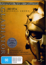 Gladiator (2000) - Extended Special Edition (3 Disc Set) on DVD