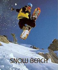 Snow Beach by Alex Dymond
