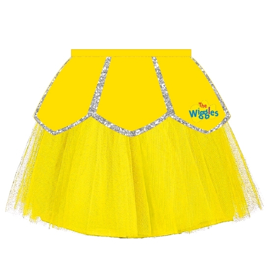 The Wiggles Emma Ballerina Tutu Skirt - Size Toddler image