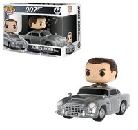 James Bond with Aston Martin - Pop! Rides Figure image