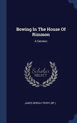 Bowing in the House of Rimmon image