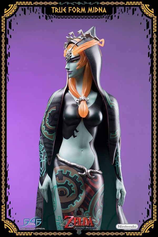 "Legend of Zelda: True Form Midna - 17"" Statue image"