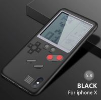 Game Machine Case for iPhone X - Black