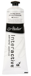 Atelier: Interactive Artists' Acrylic Paint - Tinting White (Pearl/Titanium) (80ml)
