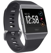 Fitbit Ionic Smart Fitness Watch Charcoal Smoke Gray