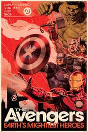 Avengers Maxi Poster - Golden Age Hero Propaganda (996)