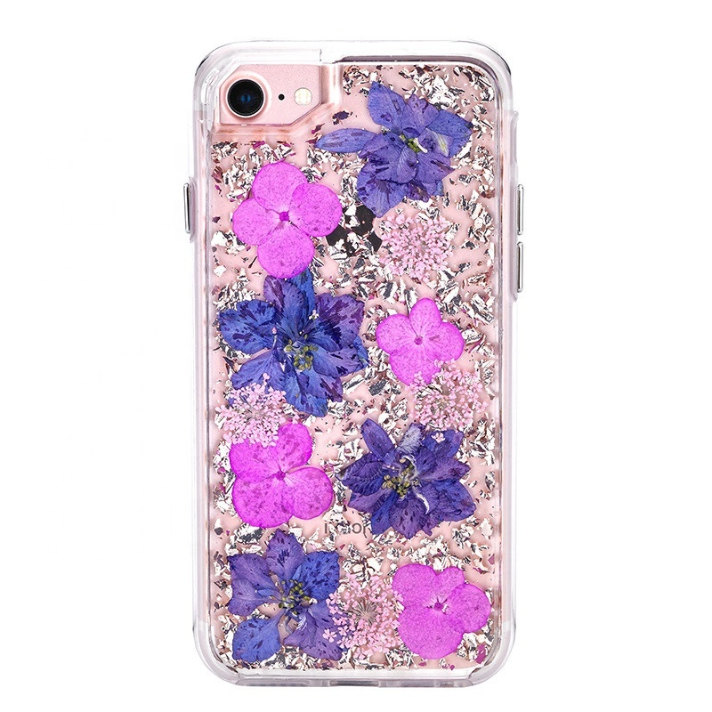 Miesherk: XH phone case for iPhone XS /X- Silver Purple image