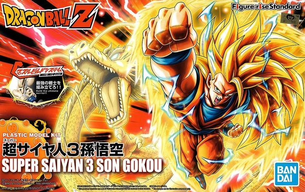 Dragon Ball: Figure-rise: SS3 Goku - Model Kit