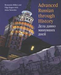 Advanced Russian Through History by Benjamin Rifkin image