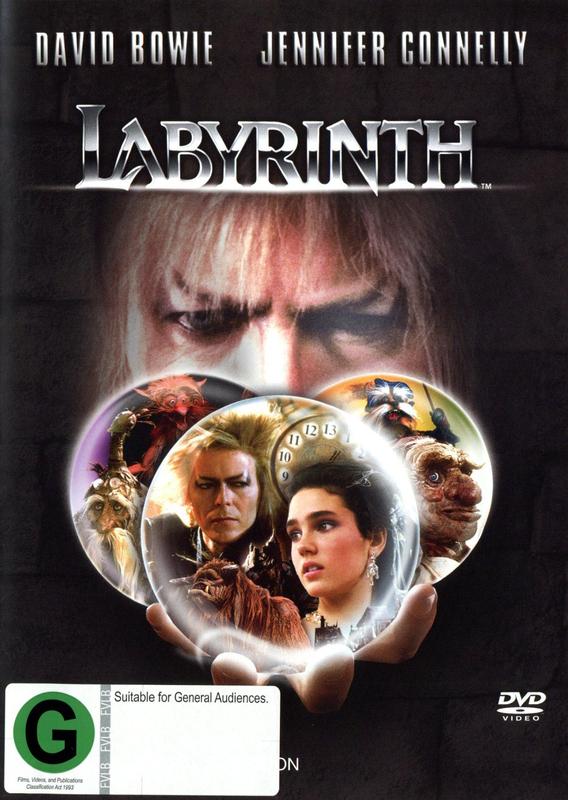 Labyrinth -  Standard Edition on DVD