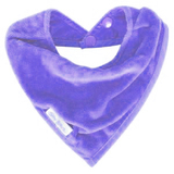 Silly Billyz Towel Bandana Bib (Lilac)
