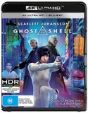 Ghost In The Shell (4K UHD + Blu-ray) DVD