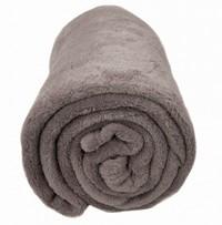 Bambury Microplush Throw Rug (Oyster)