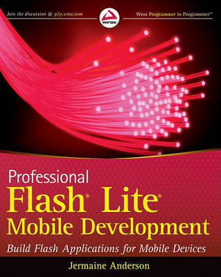 Professional Flash Lite Mobile Development by Jermaine G. Anderson image