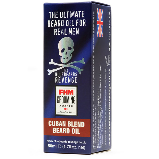 Bluebeards Revenge - Cuban Blend Beard Oil (50ml)