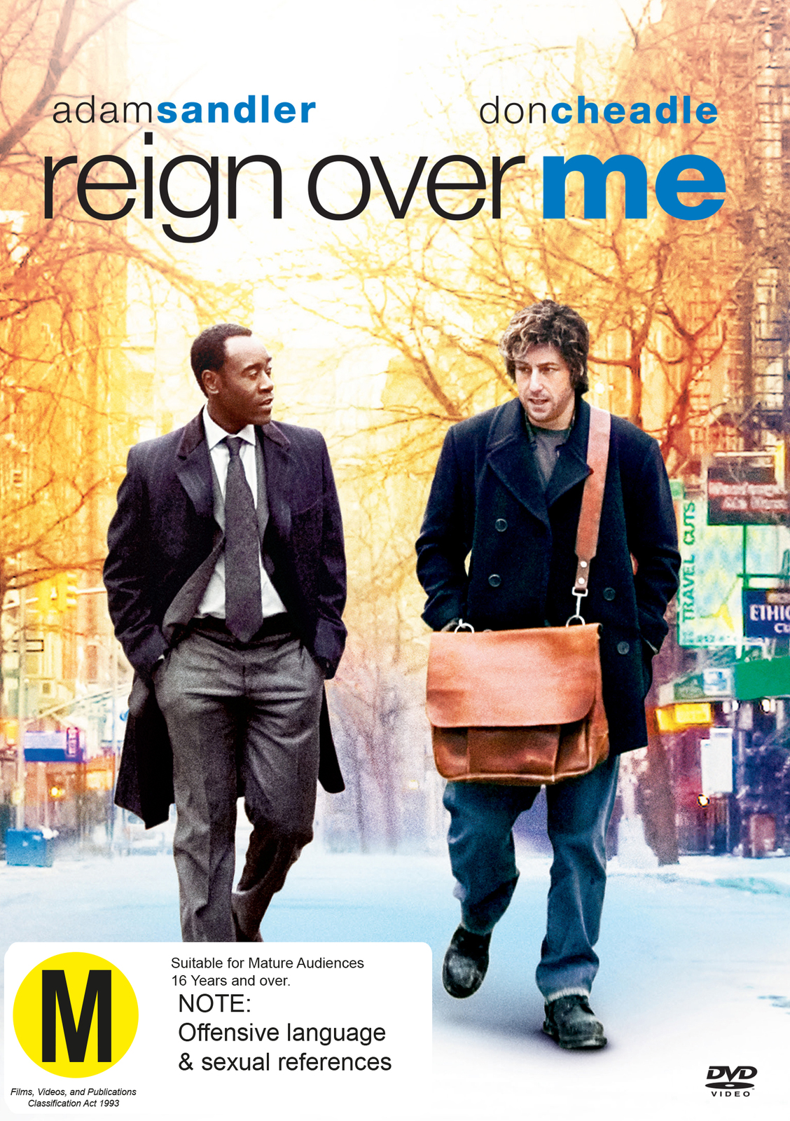 Reign Over Me on DVD image