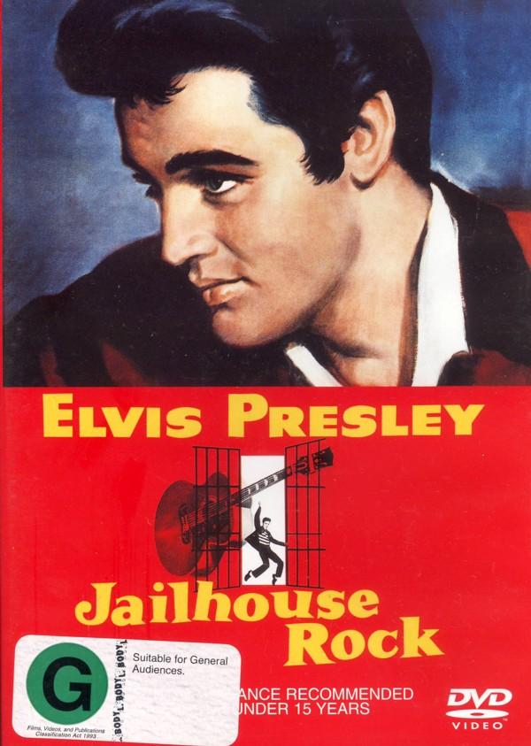 Elvis:  Jailhouse Rock on DVD image