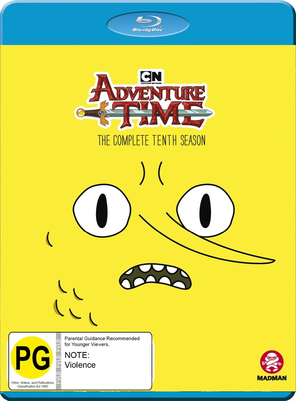 Adventure Time - The Complete Tenth Season on Blu-ray
