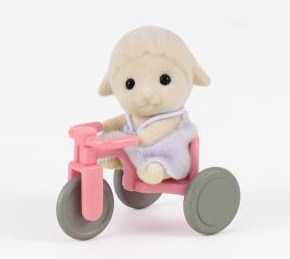 Sylvanian Families: Sheep Baby with Tricycle image