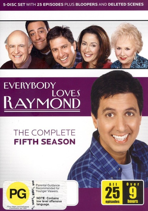 Everybody Loves Raymond - The Complete Fifth Season (5 Disc Set) on DVD