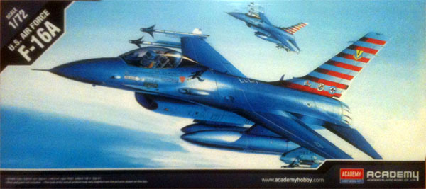 Academy F-16A Falcon 1/72 Model Kit image