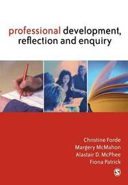 Professional Development, Reflection and Enquiry by Christine Forde image