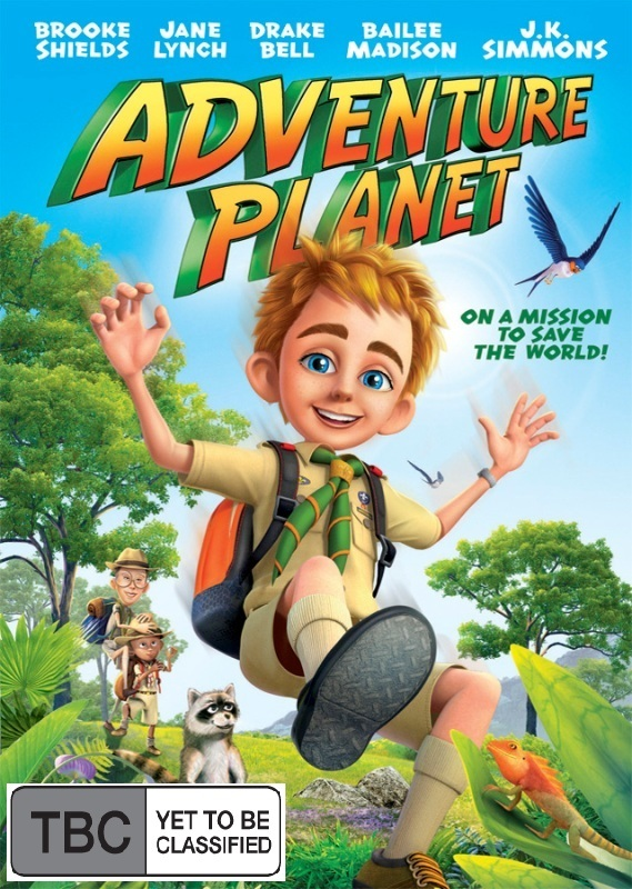 Adventure Planet on DVD