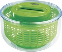 Zyliss Easy Spin Small Salad Spinner - Green