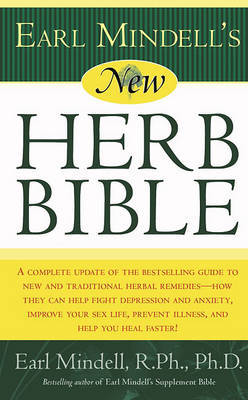 Earl Mindell's New Herb Bible by Earl Mindell image