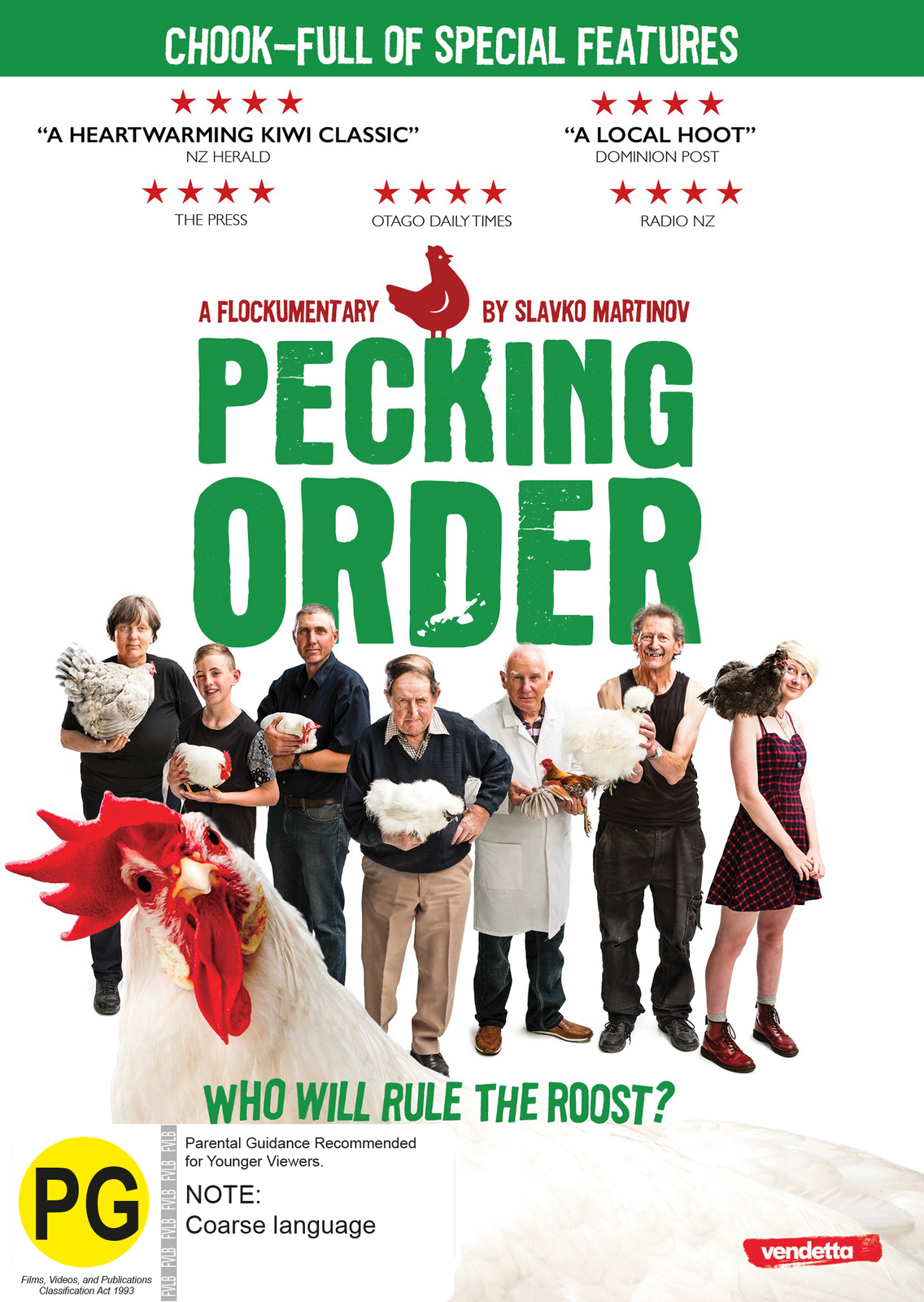 Pecking Order on DVD image