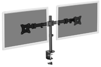 "Digitus 15-27"" Dual Monitor Stand with Clamp Base image"