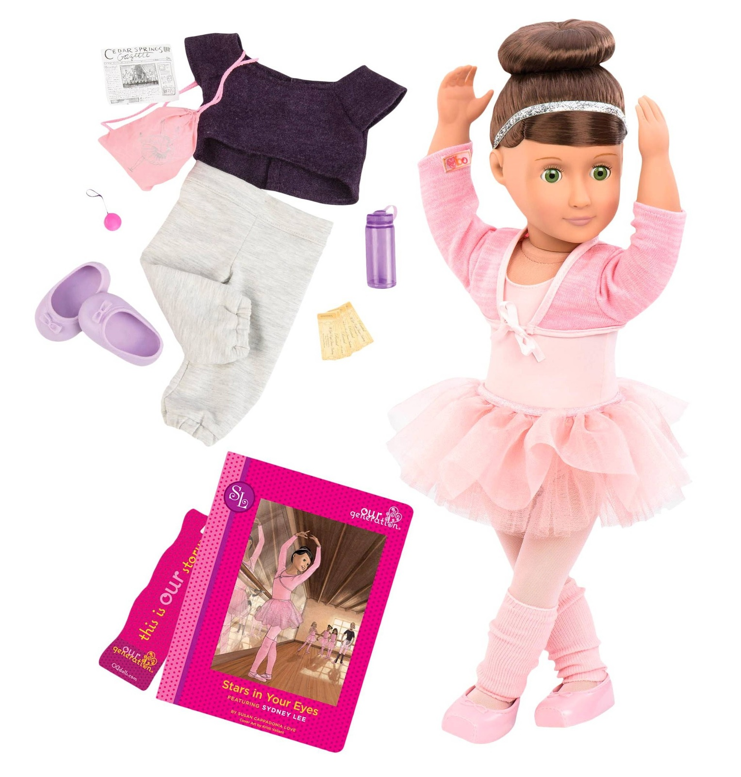 """Sydney Lee - 18"""" Deluxe Doll 