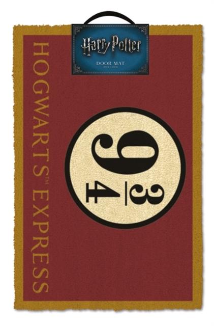 Harry Potter Doormat - Platform 9 3/4 image