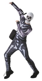 Fortnite: Skull Trooper - Tween Costume (9-10)