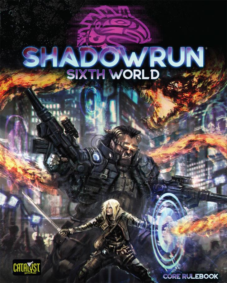 Shadowrun RPG: 6th Edition - Core Rulebook (Sixth World) image