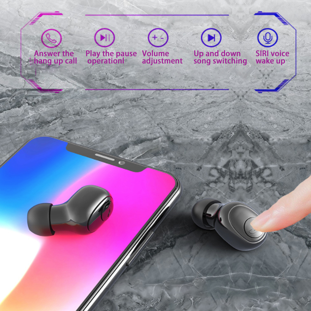 True wireless earbuds with Wireless Charge Case image