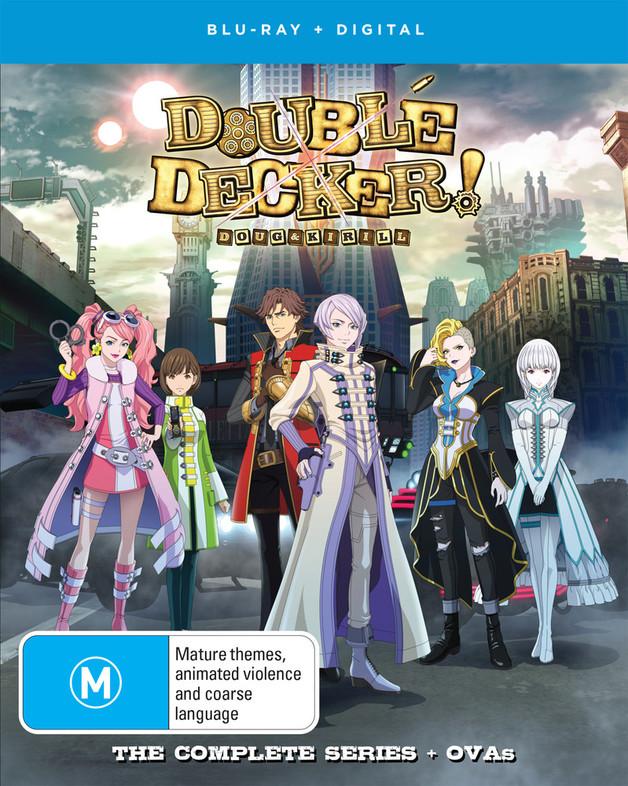 Double Decker! Doug & Kirill - Complete Series + OVA on Blu-ray