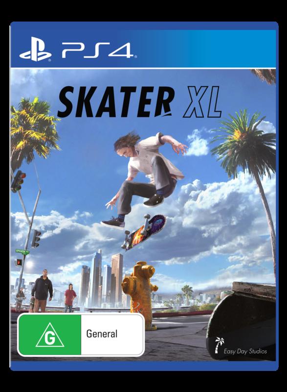 Skater XL for PS4