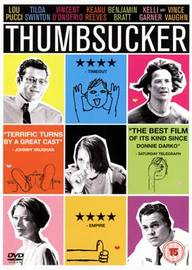 Thumbsucker on DVD