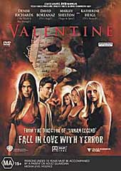 Valentine on DVD