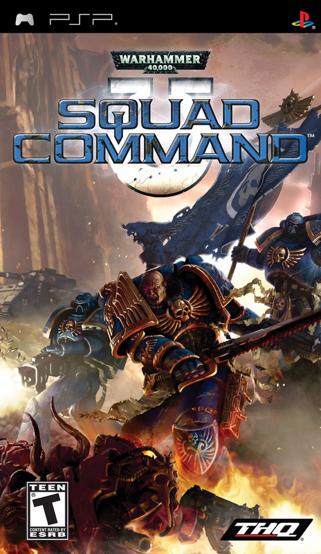 Warhammer 40.000: Squad Command for PSP