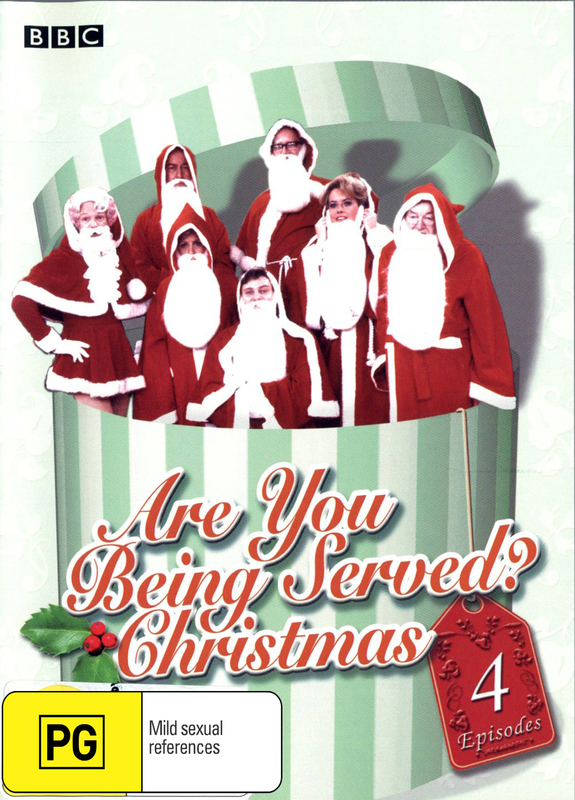Are You Being Served? Christmas on DVD